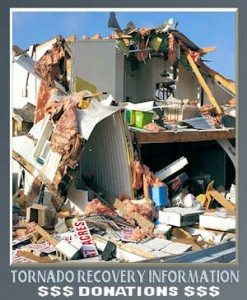 Donations for Fairdale Tornado Relief